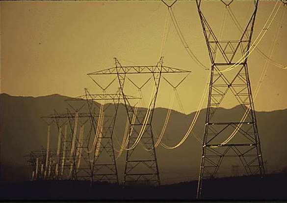 Hoover Dam Power Lines